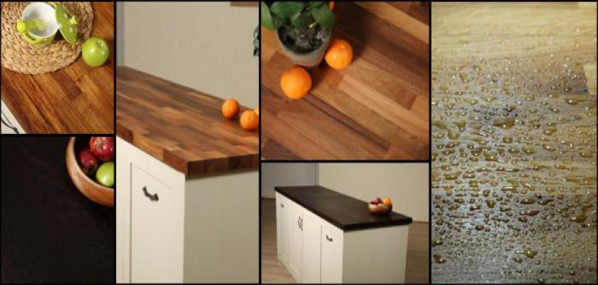 Meşe Mutfak Tezgahlarındaki Özel Tasarım Desenler