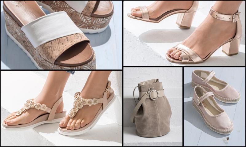 Renkli Sandalet Modelleri