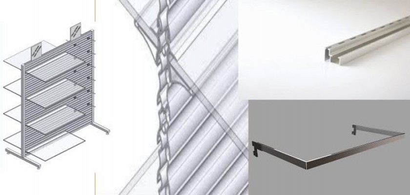 Alüminyum Profil Raf Sistemleri