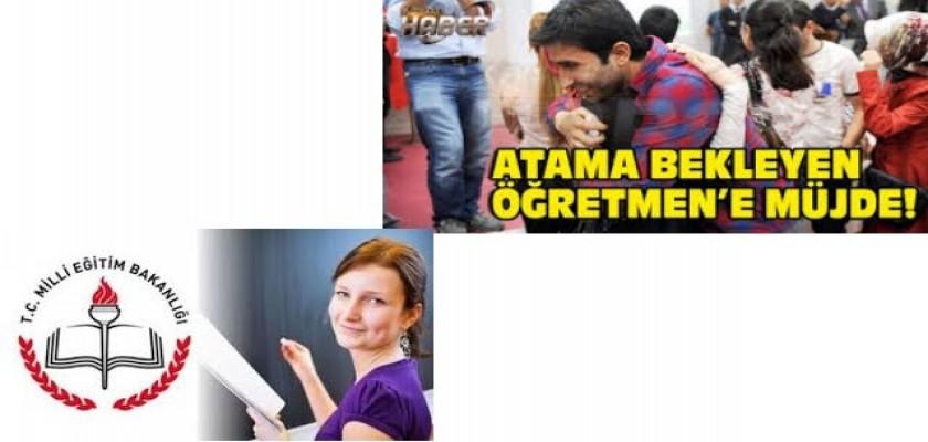 Atama Bekleyen Öğretmen Adaylarının Beklediği Müjdeli Haber Geldi
