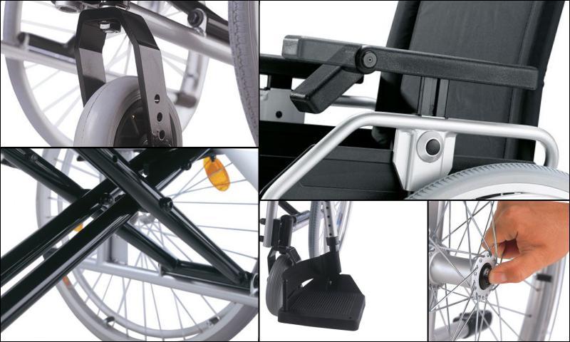 Manuel Tekerlekli Sandalyelerin Özellikleri