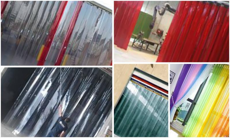 PVC Şerit Perde Tasarımları