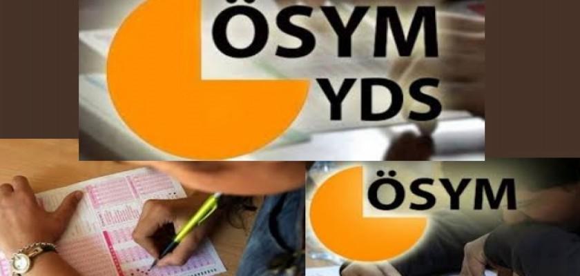 Yabancı Dil Bilgisi Tespit Sınavı (YDS) Başvuruları Yarın Başlıyor